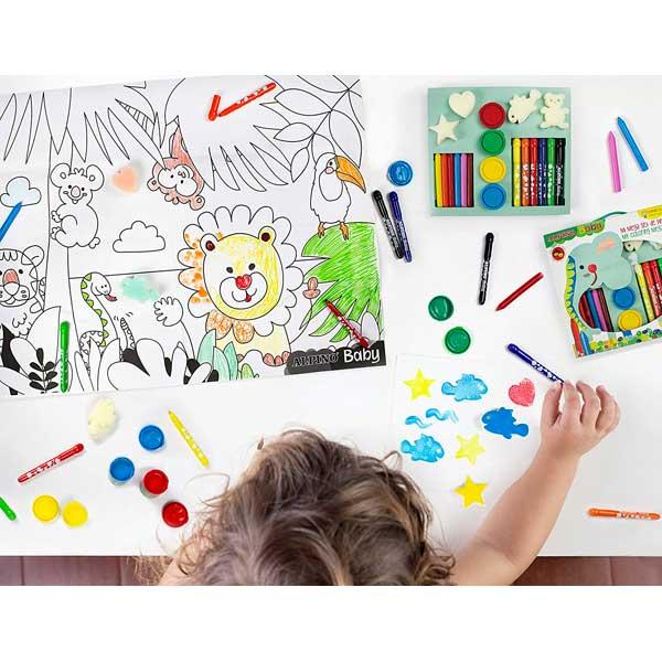 Mega Set de Pinturas Alpino Baby - Imagen 2