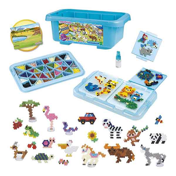 Aquabeads Caja Safari 3000p - Imagen 1