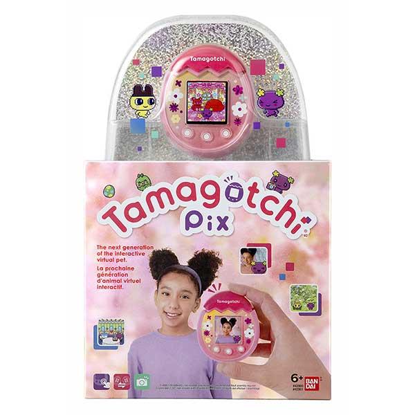 Tamagotchi PIX Floral Rosa - Imagen 2