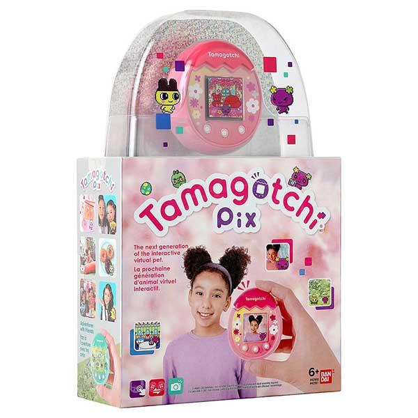 Tamagotchi PIX Floral Rosa - Imagen 6