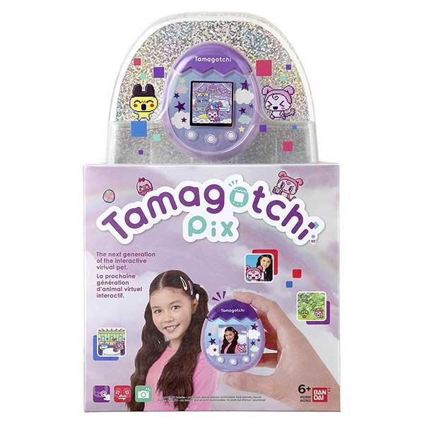 Tamagotchi PIX Sky Lila - Imagen 2