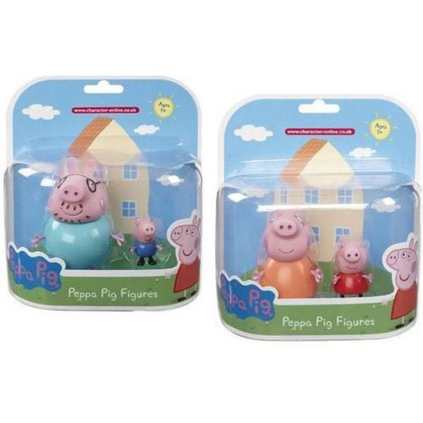 Figuras Peppa Pig y Familia
