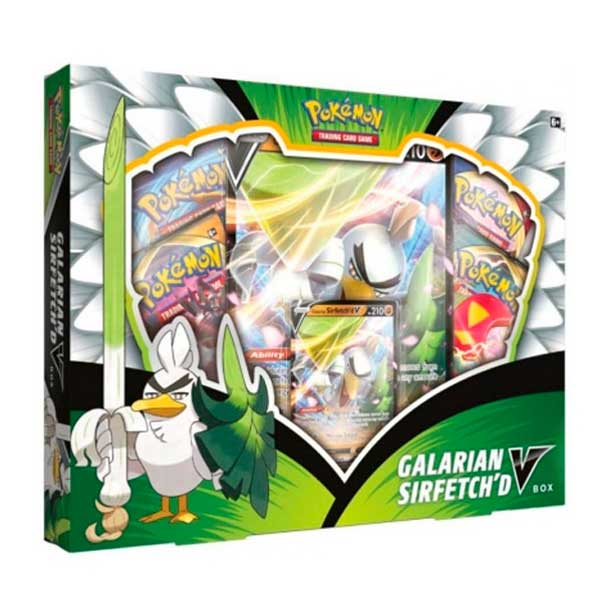 Pokemon Cartas Galarian Sirfetch'd V