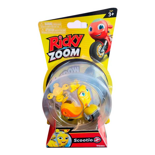 Ricky Zoom Personaje Básico Scootio - Imagen 1