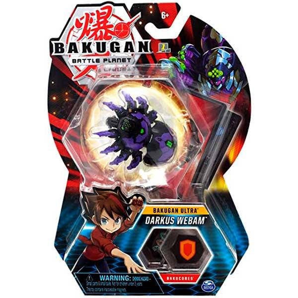 Bakugan Figura Ultra Darkus Webam - Imagen 1