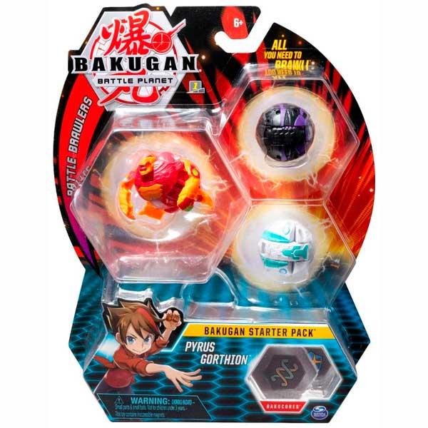 Bakugan Figura Starter Pack Pyrus Gorthion - Imagen 1