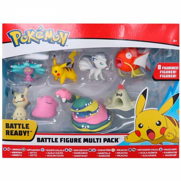 Pokemon Multipack 8 Figuras - Imagen 1