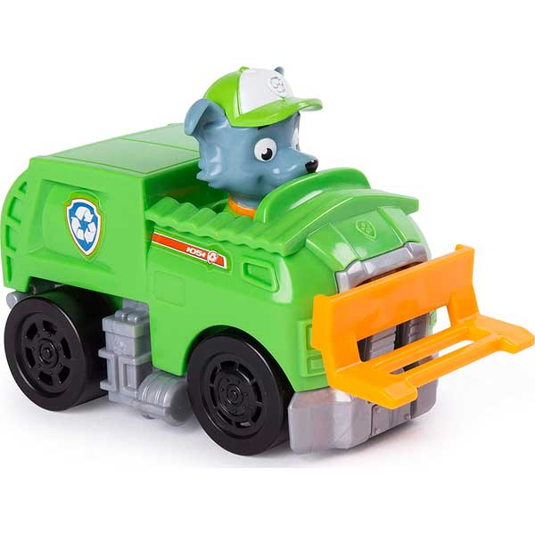 Mini Vehículo con Figura Paw Patrol - Imagen 6