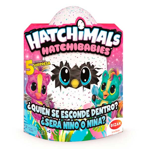 Hatchimals Hatchibabies Ponette - Imagen 1