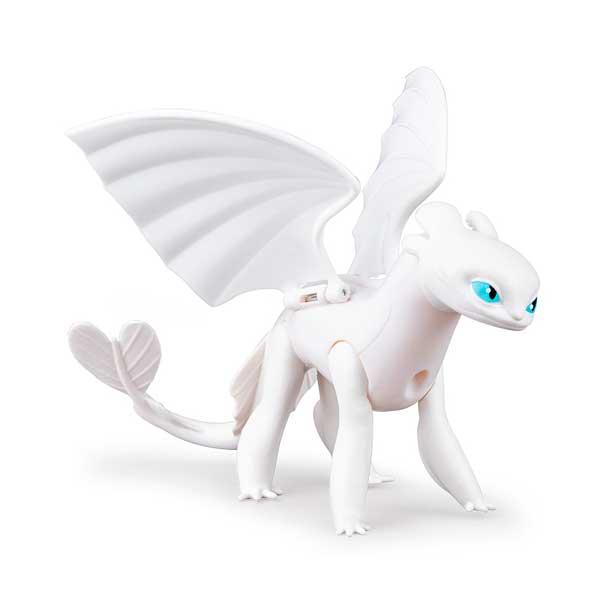 Dragones de Berk Figura Dragón Lightfury Articulada - Imagen 1