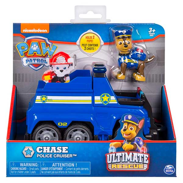 Vehículo Paw Patrol Chase Ultimate Rescue - Imagen 2
