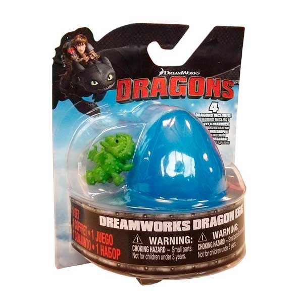 Dragones de Berk Figura Mini Dragón Huevo Sorpresa - Imatge 1