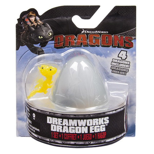 Dragones de Berk Figura Mini Dragón Huevo Sorpresa - Imatge 3