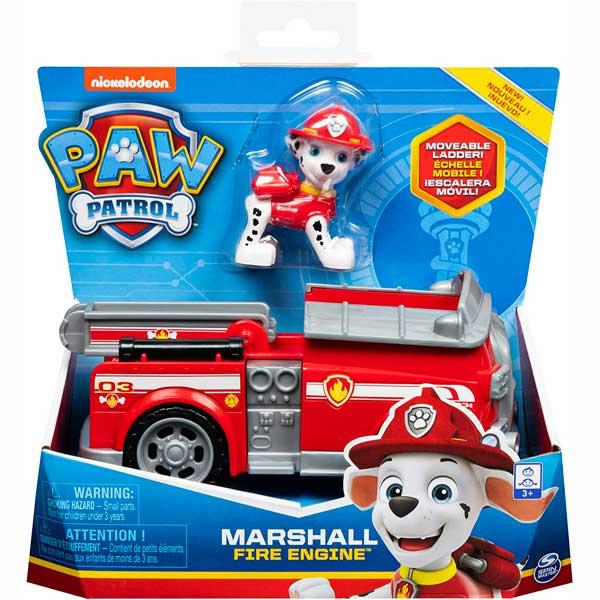 Vehículo Marshall con Figura Paw Patrol
