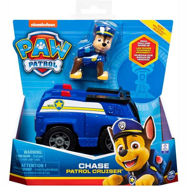 Vehículo Chase con Figura Paw Patrol