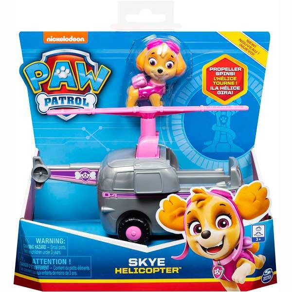Vehículo Skye con Figura Paw Patrol