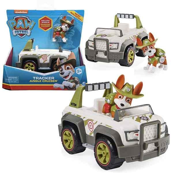 Paw Patrol Vehículo Tracker con Figura - Imagen 1