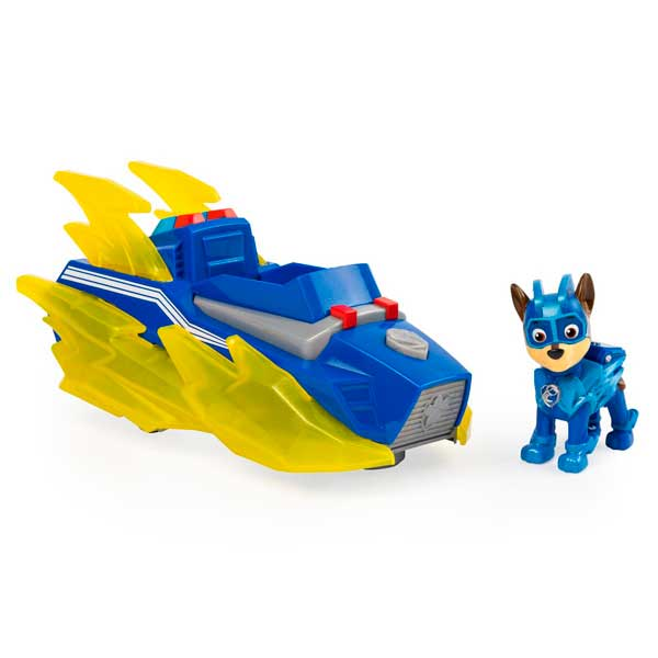 Vehículo Chase Mighty Pups Paw Patrol