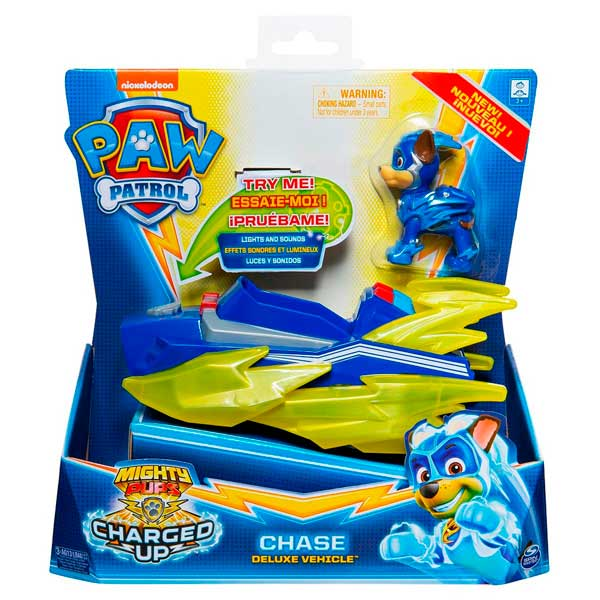 Vehículo Chase Mighty Pups Paw Patrol - Imagen 2