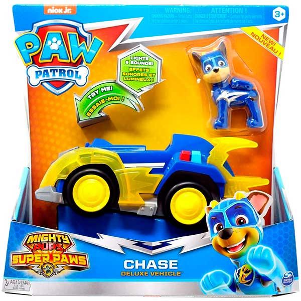 Patrulla Canina Coche Chase Mighty Super Paws - Imagen 1