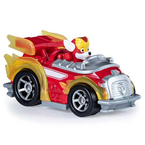 Patrulla Canina Mighty Marshall con Vehículo Metal