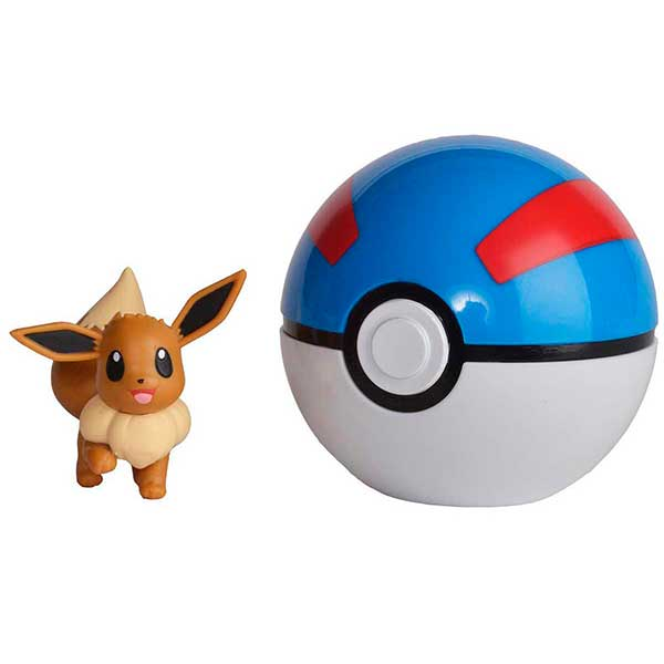 Pokemon Figura Pokeball Clip N'Go Eevee