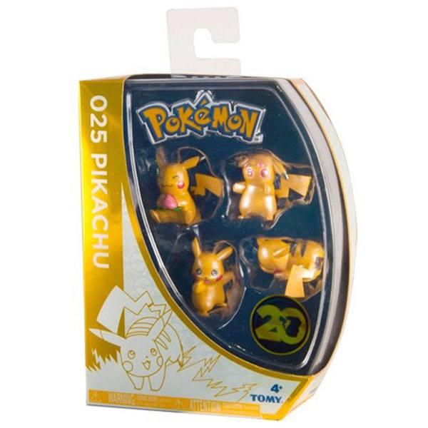 Pokemon Pack 4 Figuras 20 Aniversario