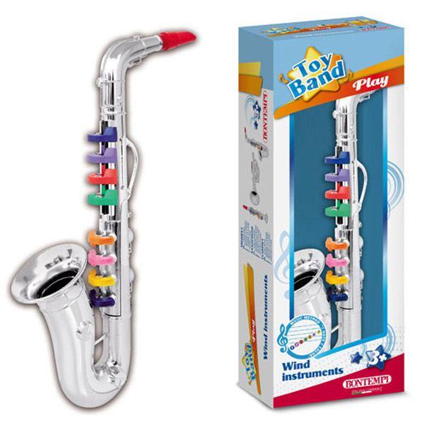 Saxofon de 8 Tecles de Color - Imatge 1