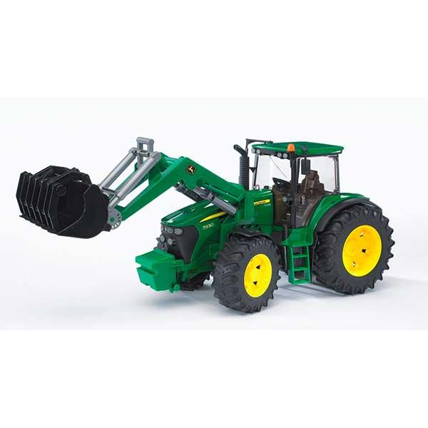Bruder 3051 Tractor John Deere 7930 con Pala Frontal - Imagen 1