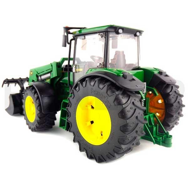 Bruder 3051 Tractor John Deere 7930 con Pala Frontal - Imagen 2