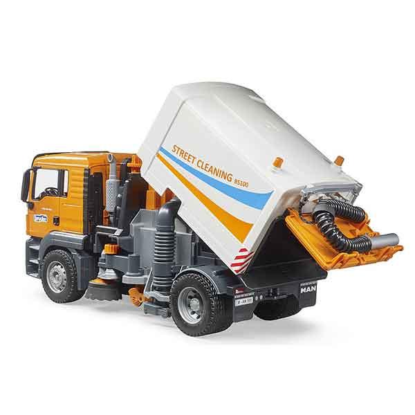 Bruder 3780 Camión MAN TGS para Limpiar las Calles - Imagen 2