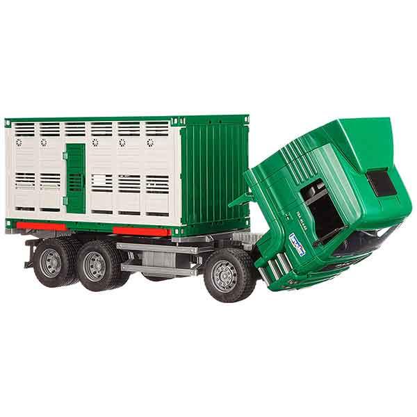 Bruder 9041 Camión de Ganado con Vaca - Imagen 2