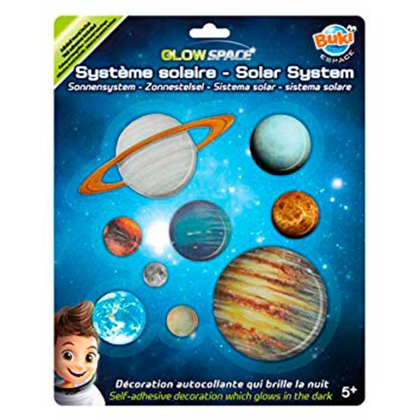 Planetas Sistema Solar Fosforescentes - Imagen 1