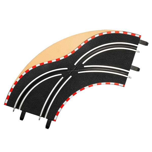 Carrera Go!!! Pistas Cambio de Carril en Curva - Imagen 1