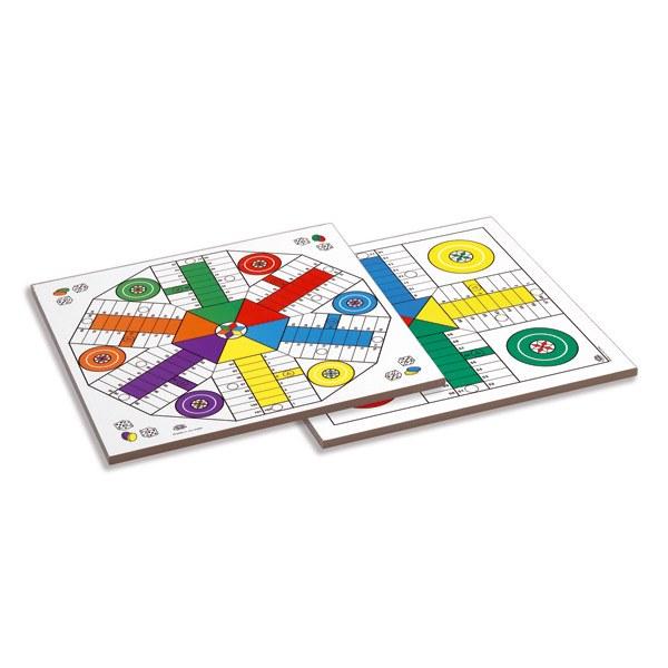 Tablero de Parchís de Madera - 4 y 6 jugadores
