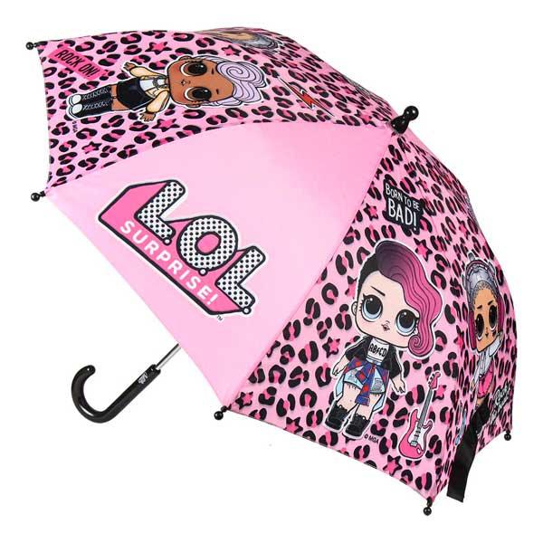 Paraguas Manual LOL Negro 42 cm