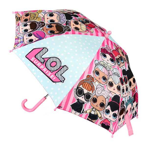 Paraguas Manual LOL Rosa 42 cm