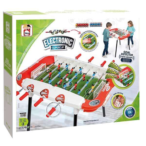 Futbolín Infantil Electrónico Supercup - Imagen 3