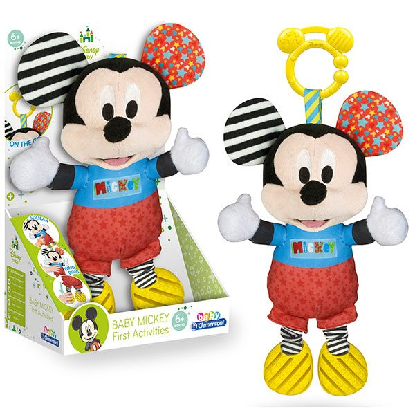 Peluche Baby Mickey Texturas