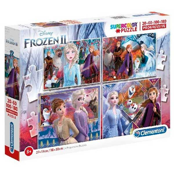 Frozen Puzzle Progressivo 20+60+100+180P