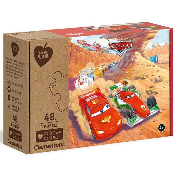 Cars Puzzle 3x48p