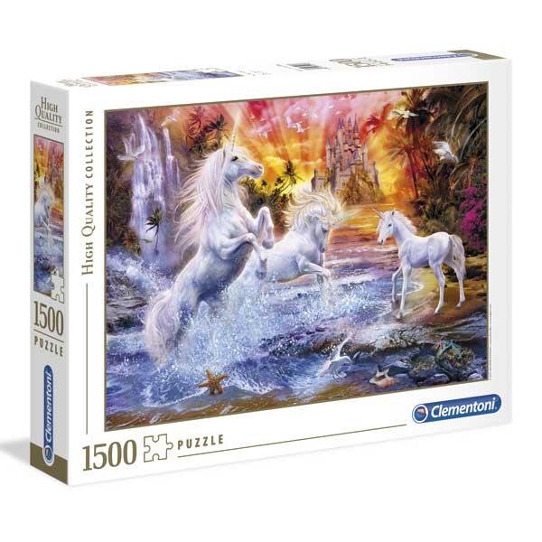 Puzzle 1500p Unicorns Salvatges - Imatge 1