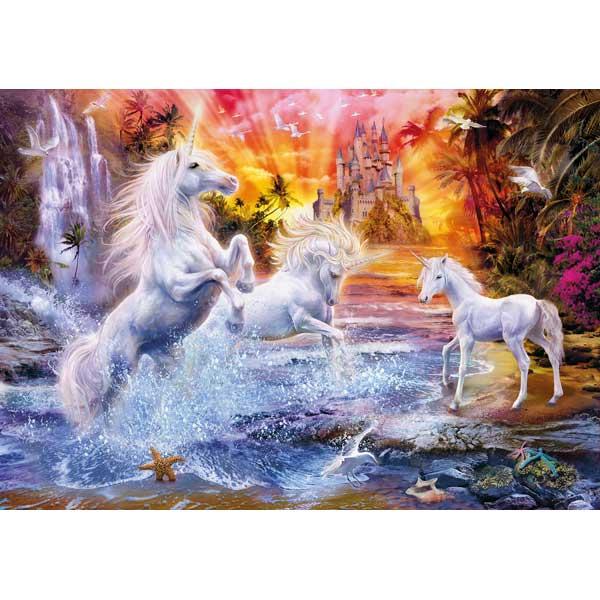 Puzzle 1500p Unicornios Salvajes - Imatge 1