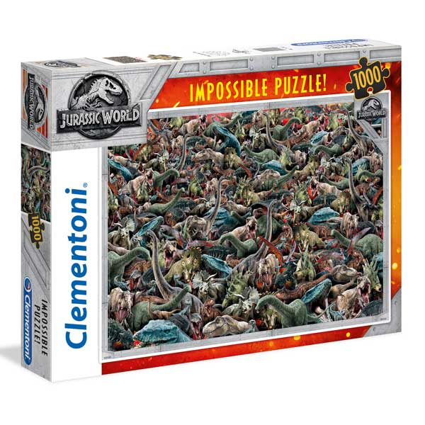 Puzzle 1000p Jurassic World Impossible