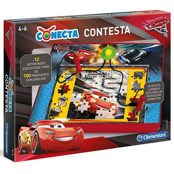 Juego Conecta Contesta Cars 3