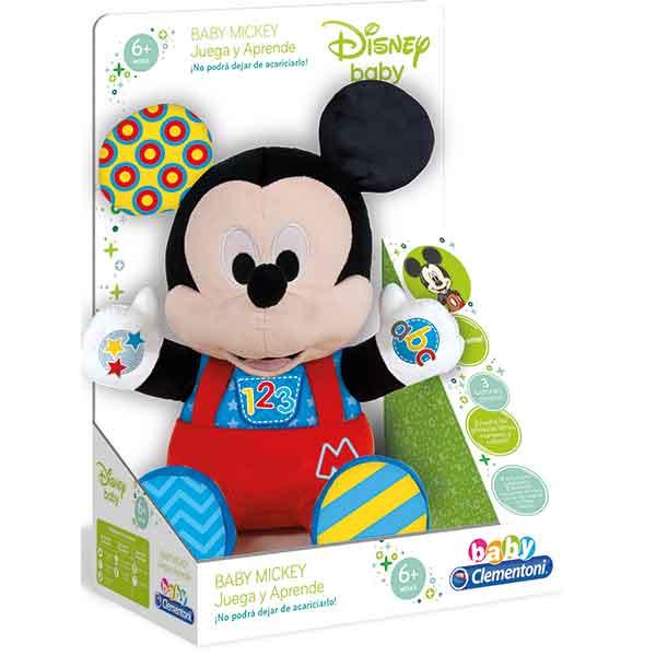 Peluche Baby Mickey Juega y Aprende - Imagen 1