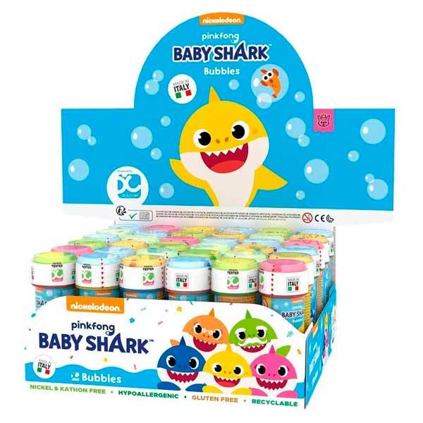 Baby Shark Burbujas de Jabón 60 ml - Imagen 1