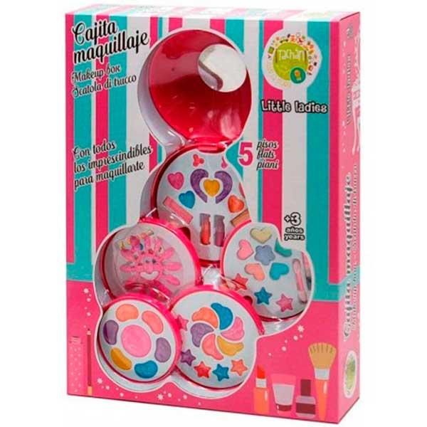 Conjunto De Maquiagem Infantil 5 Andares