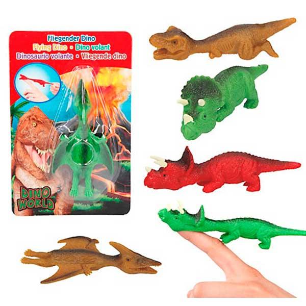 Dino World Dinosaurio Voladores Goma - Imagen 1