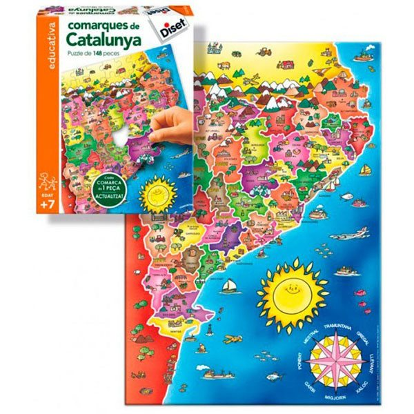 Puzzle Comarcas de Cataluña - Imagen 1
